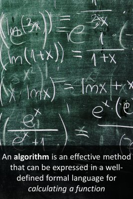 What is an Algorithm? - back