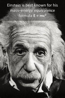 Albert Einstein - back