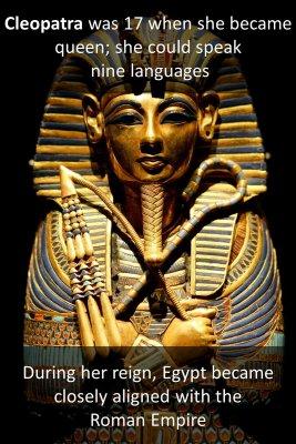 Cleopatra - back