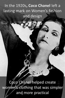 Coco Chanel - back