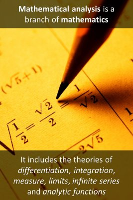 What is Mathematical Analysis micro-learning cards