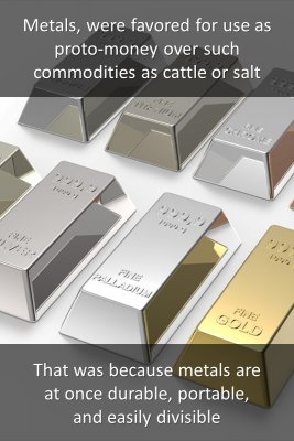 Metals and gold - front