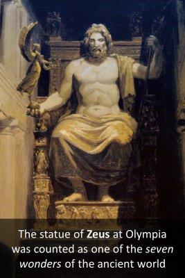 The statue of Zeus micro courses