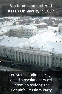 Lenin's university 1/2 - front