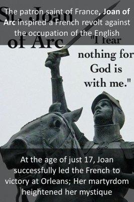 Joan of Arc bite sized information
