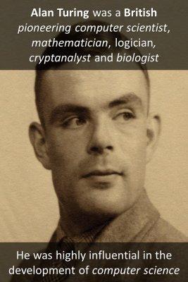 Alan Turing - back