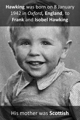 Hawking's Parents knowledge cards