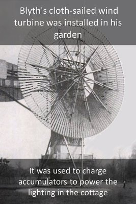 The first windmill - back