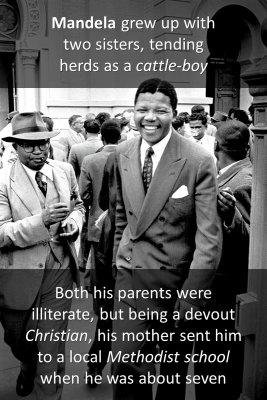 Nelson Mandela - back