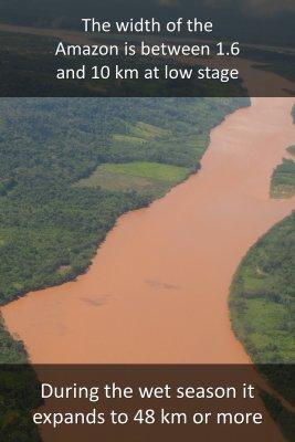 Amazon river - back