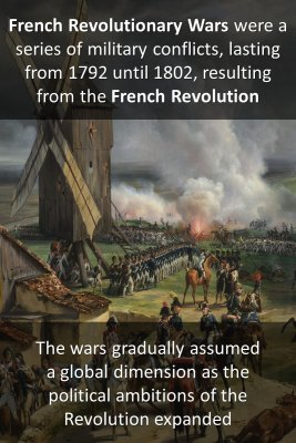 French Revolutionary Wars knowledge cards