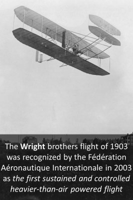 The Wright brothers - front
