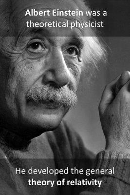 Albert Einstein micro-learning cards