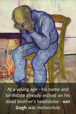 Vincent's brother - back
