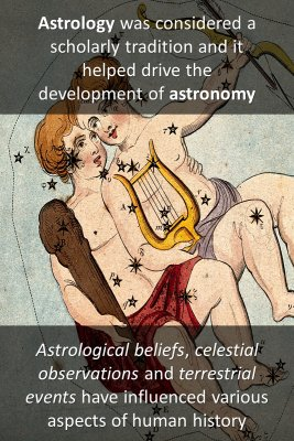 History of astrology bite sized information
