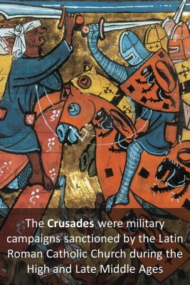Crusades micro-learning cards