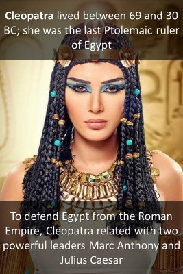Cleopatra micro-learning cards
