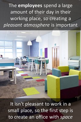 Create a pleasant atmosphere knowledge cards