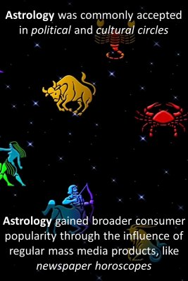 History of astrology - back