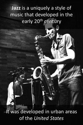 Jazz origin micro-learning cards