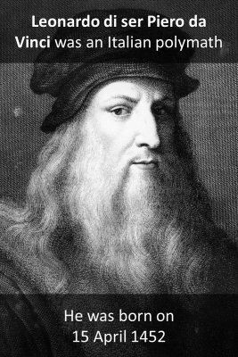 Leonardo da Vinci micro-learning cards