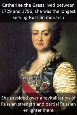 Catherine the Great knowledge cards