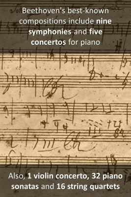Ludwig van Beethoven - back