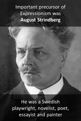 August Strindberg knowledge cards