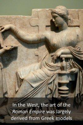 Greek art - back
