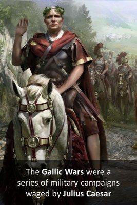 The Gallic Wars bite sized information