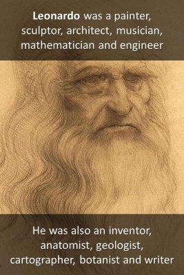 Leonardo da Vinci - back