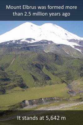 Mount Elbrus - back