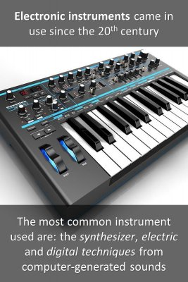 Electronic instruments - back