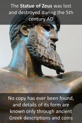 Statue of Zeus - back