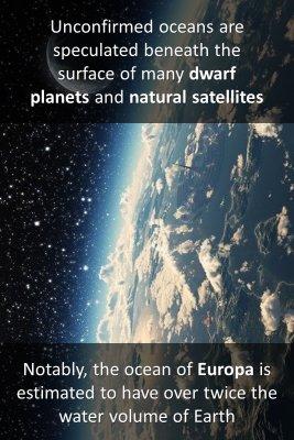 Extraterrestrial oceans 2/2 - front