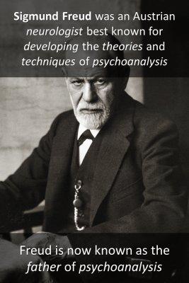 Sigmund Freud 1/2 micro-learning cards