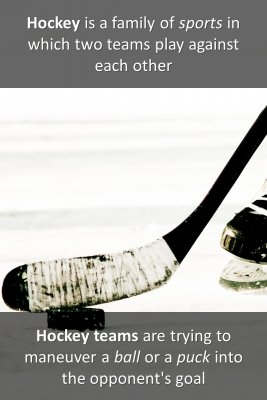 What is Hockey micro-learning cards